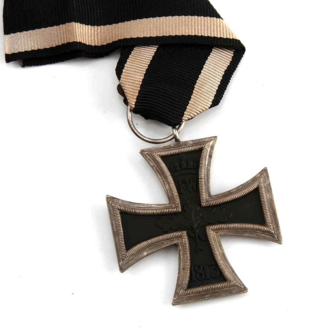 IMPERIAL GERMAN PRE WWI 1870 2ND CLASS IRON CROSS - 3