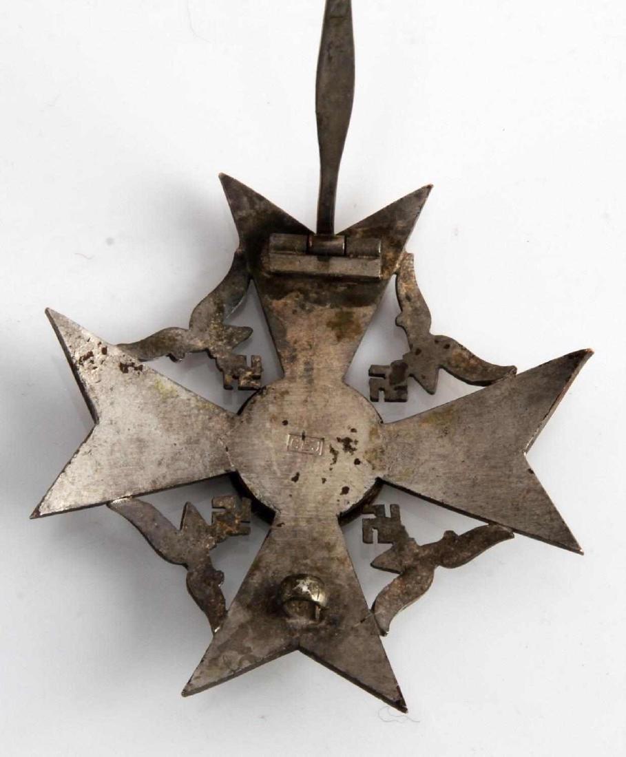 WWII GERMAN THIRD REICH SPANISH CROSS SILVER - 3