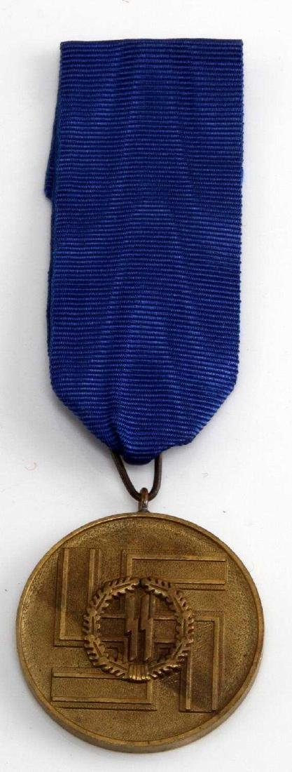 WWII GERMAN THIRD REICH SS LONG SERVICE DECORATION