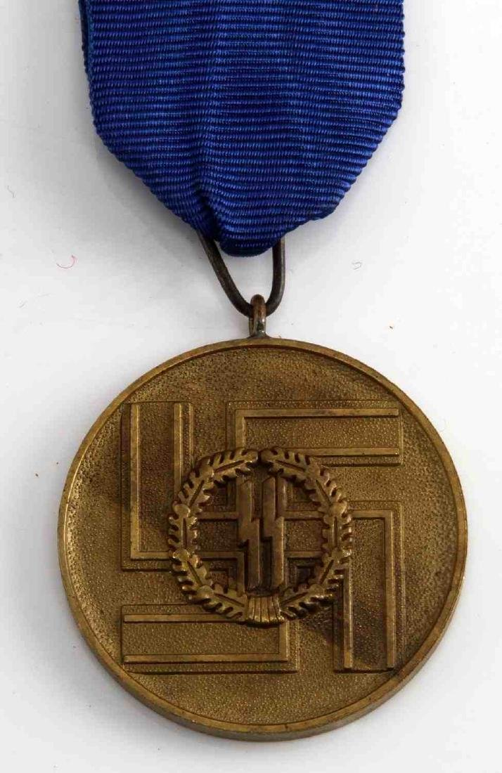 WWII GERMAN THIRD REICH SS LONG SERVICE DECORATION - 2