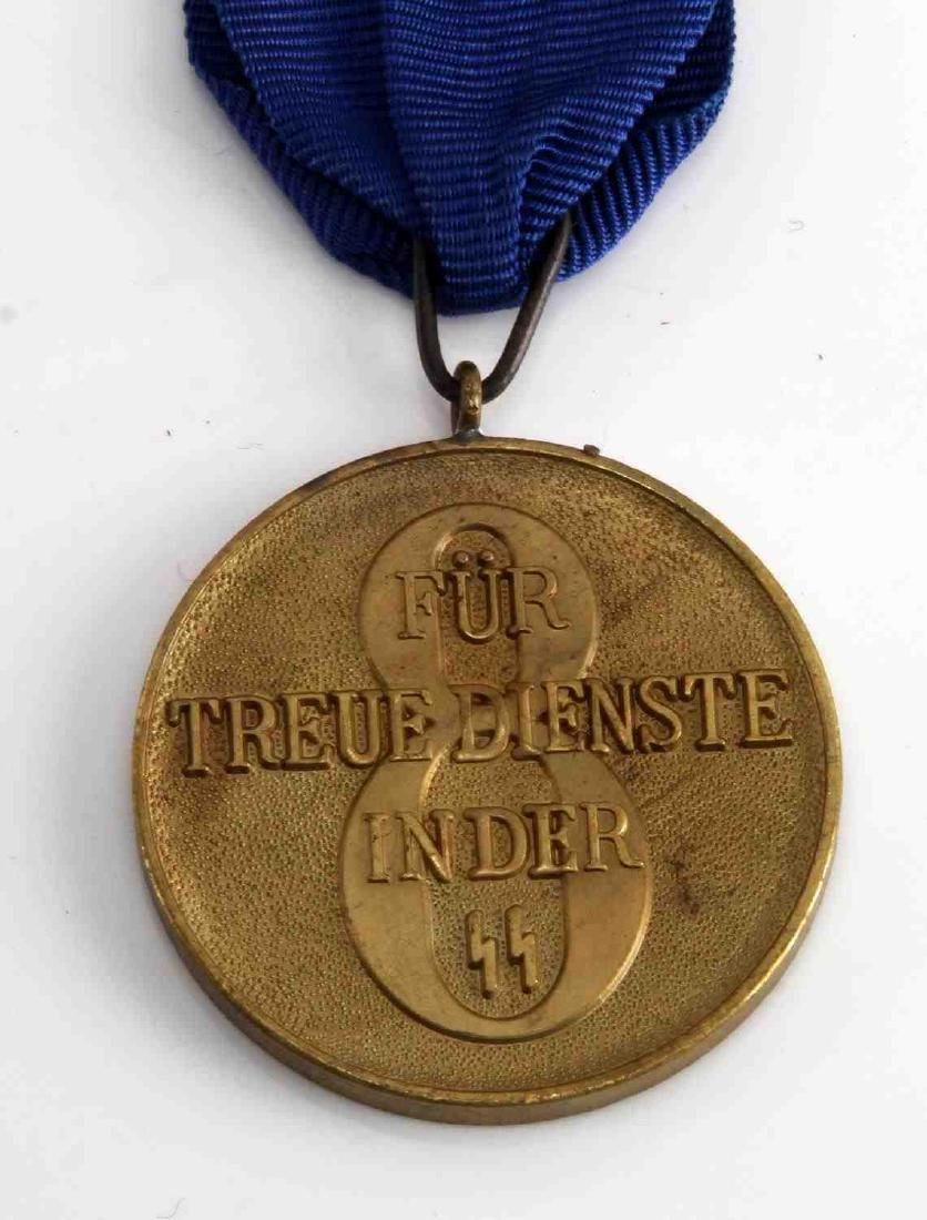 WWII GERMAN THIRD REICH SS LONG SERVICE DECORATION - 3