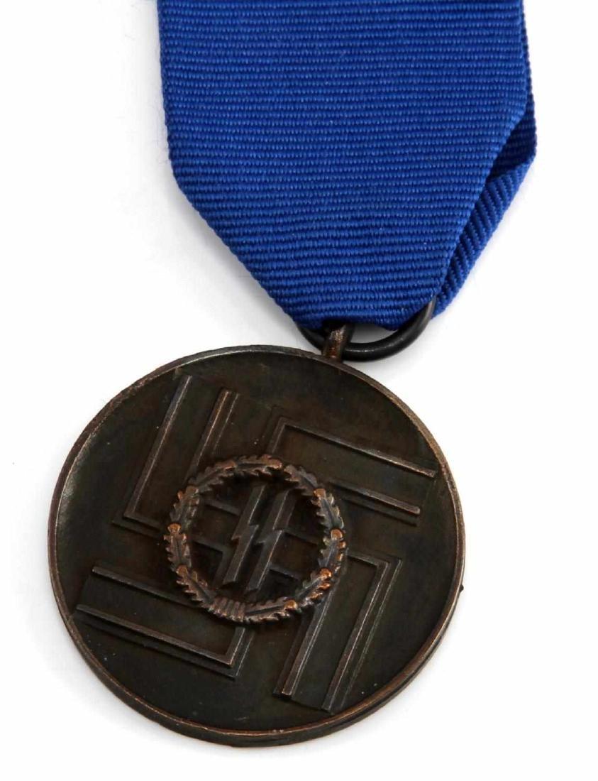 GERMAN WWII WAFFEN SS LONG SERVICE DECORATION - 2