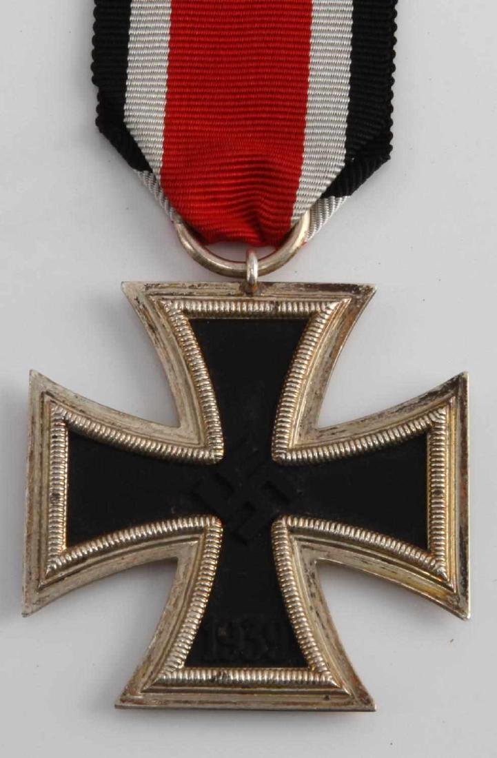 GERMAN WWII IRON CROSS W LETTER & SS NORD AUSWEIS - 2