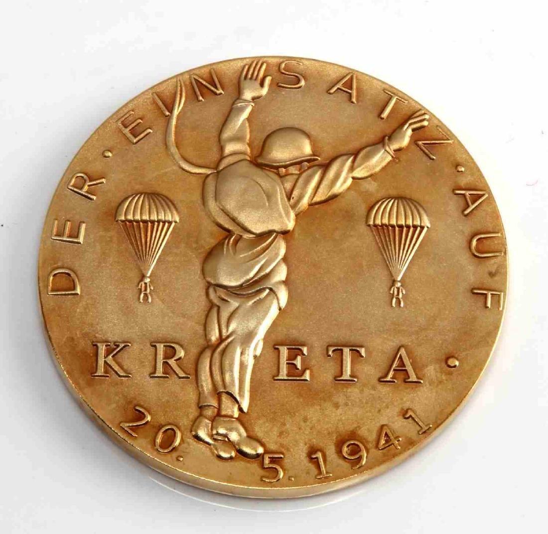 LUFT PARATROOPER FALLSCHIRMJAGER KRETA 1941 AWARD