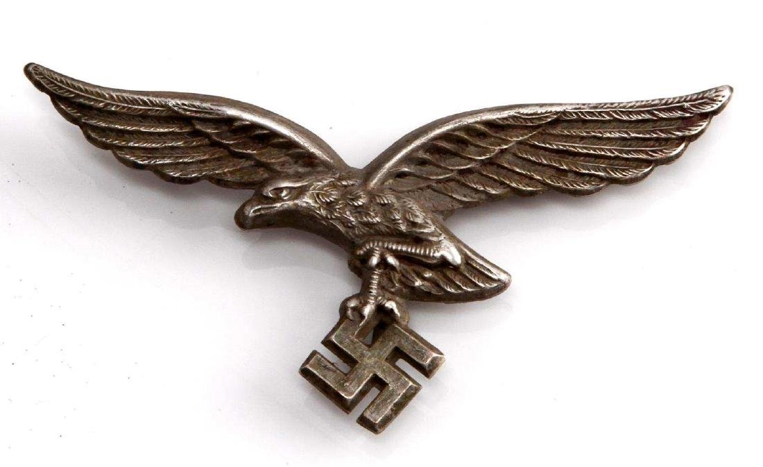 GERMAN WWII LUFTWAFFE AFRIKA KORPS HELMET EAGLE