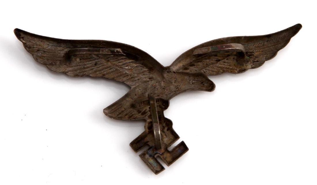 GERMAN WWII LUFTWAFFE AFRIKA KORPS HELMET EAGLE - 2