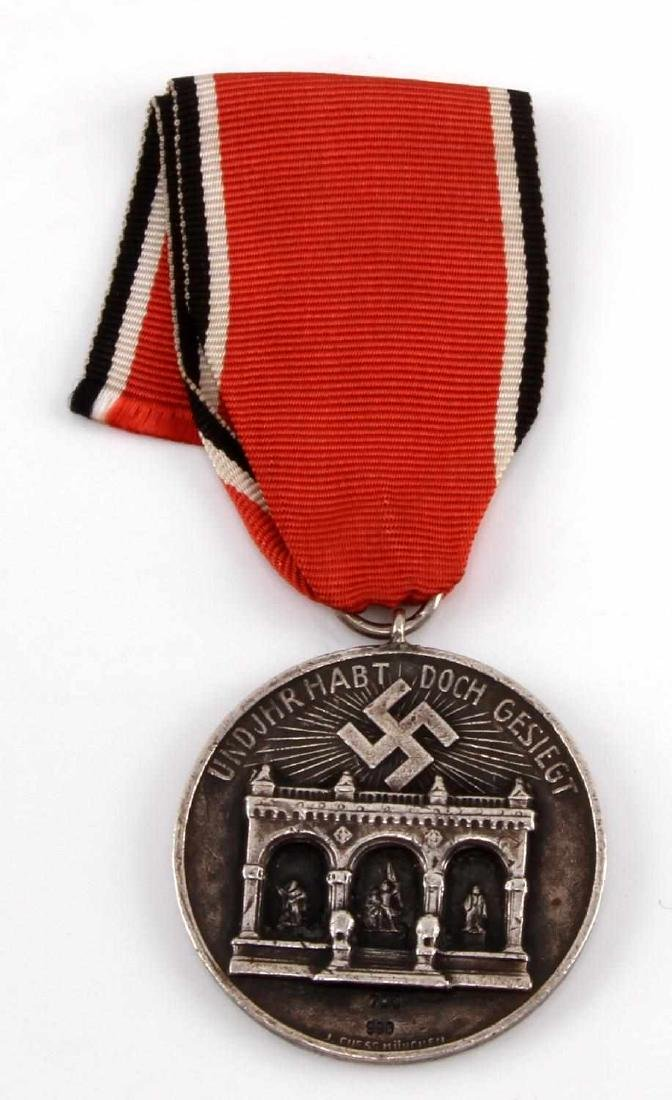 GERMAN WWII 1ST ISSUE BLOOD ORDER DECORATION MEDAL
