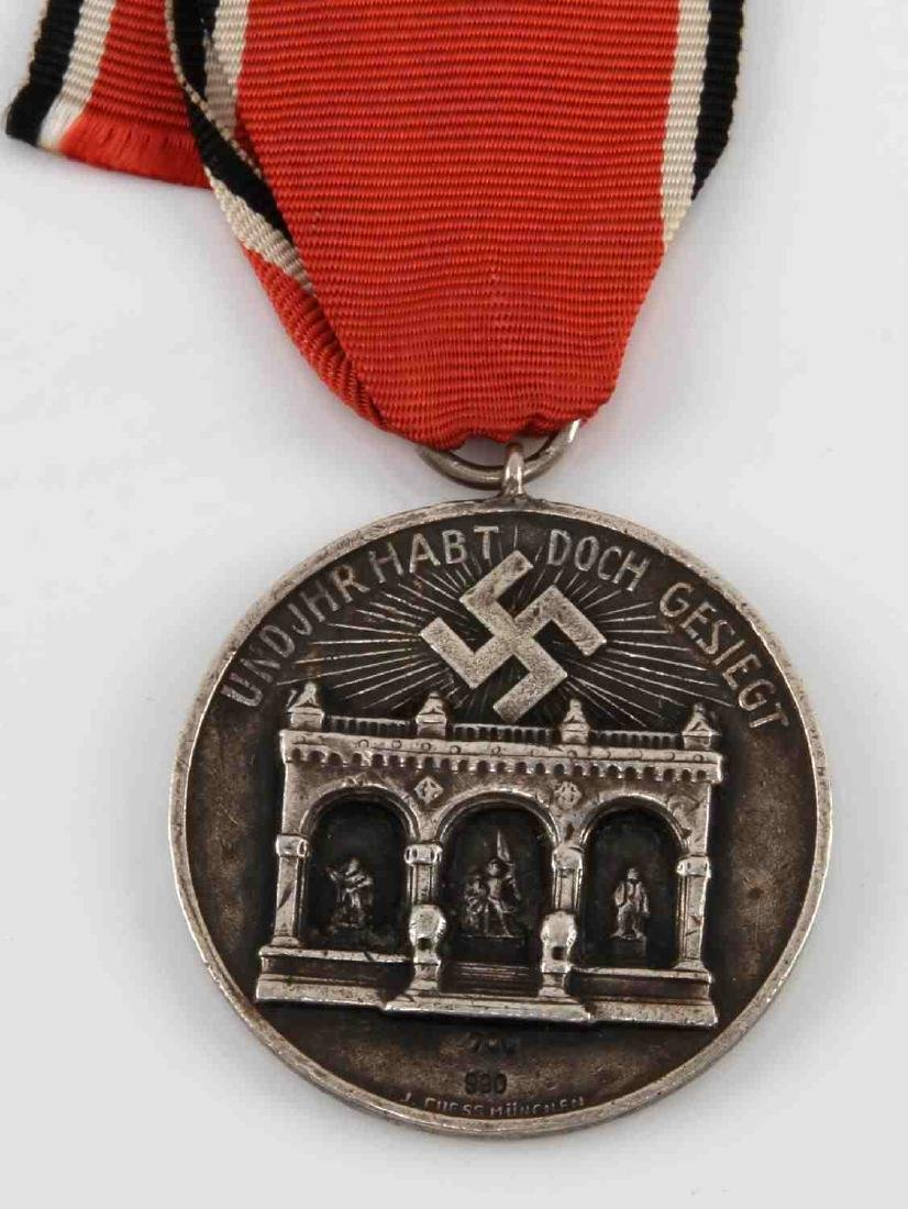 GERMAN WWII 1ST ISSUE BLOOD ORDER DECORATION MEDAL - 2