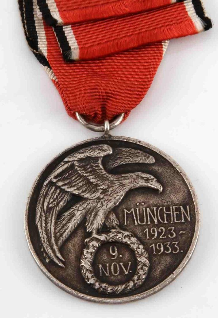 GERMAN WWII 1ST ISSUE BLOOD ORDER DECORATION MEDAL - 3