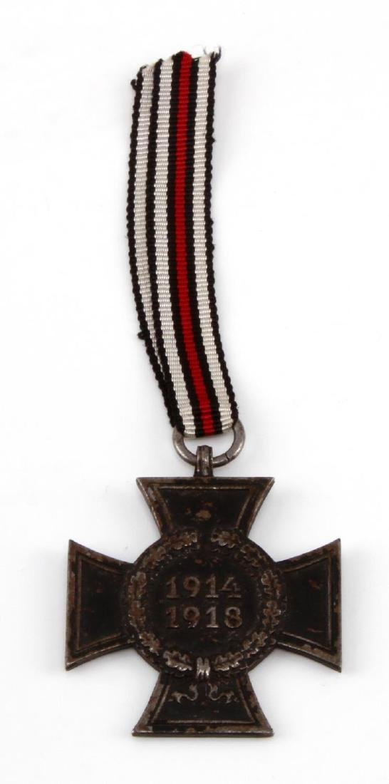 IMPERIAL GERMAN WWI NEXT OF KIN HINDENBURG CROSS