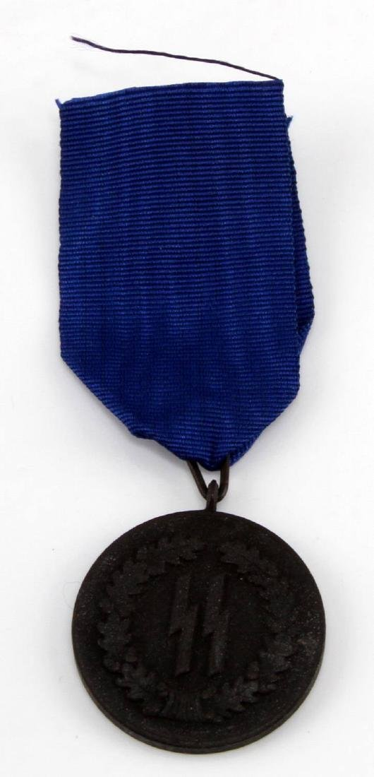 GERMAN WWII WAFFEN SS 4 YEAR SERVICE DECORATION