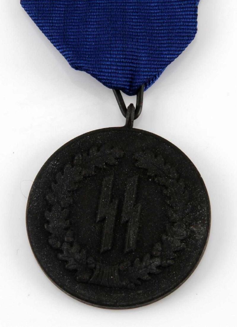 GERMAN WWII WAFFEN SS 4 YEAR SERVICE DECORATION - 2