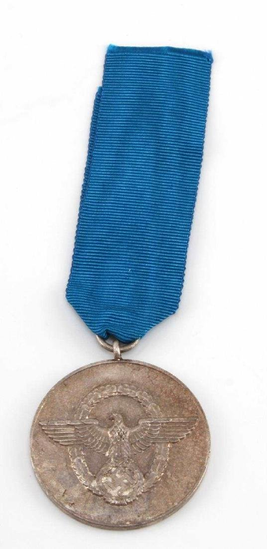 GERMAN WWII POLICE 8 YEAR SERVICE DECORATION MEDAL