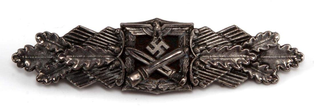 GERMAN WWII HEER ARMY SILVER CLOSE COMBAT CLASP