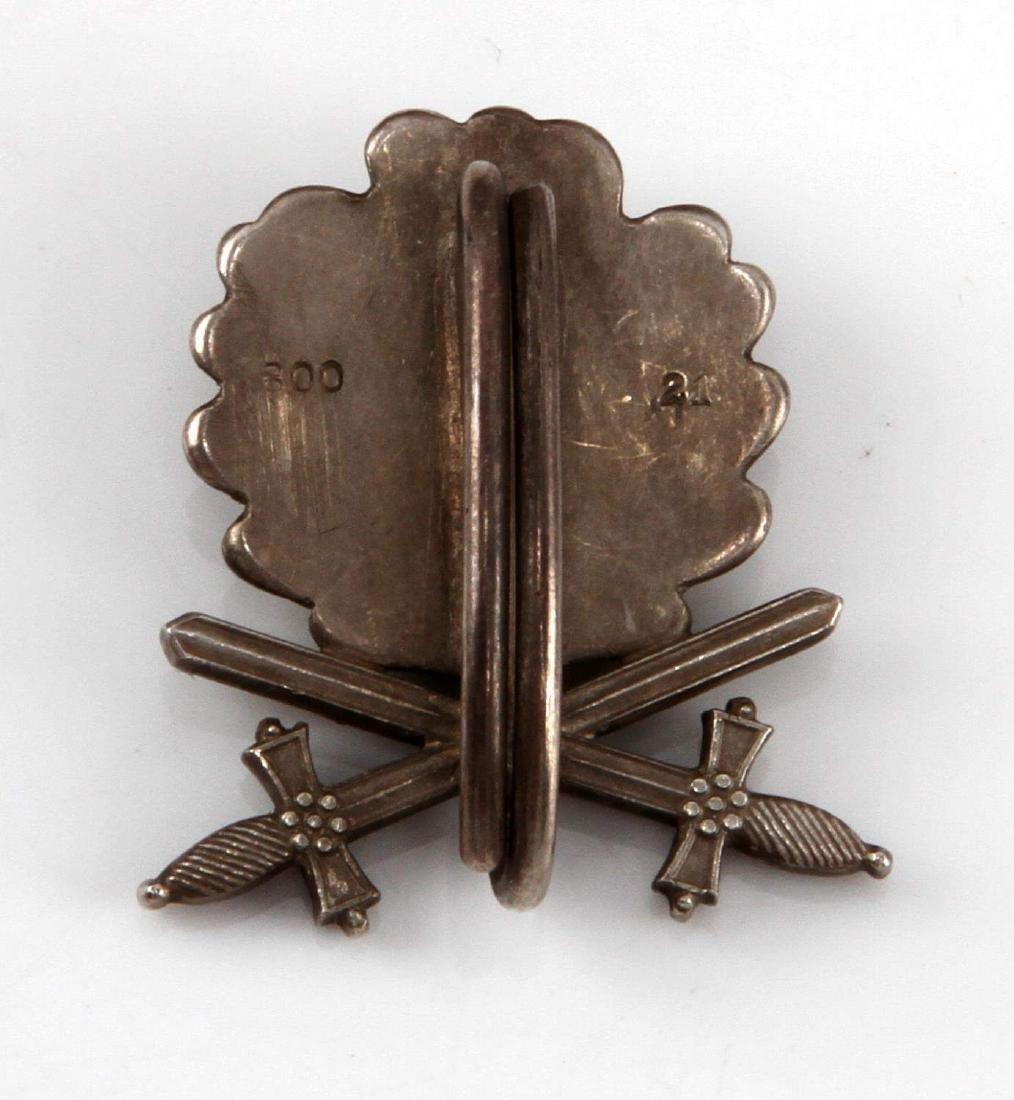 CASED GERMAN OAK LEAVES W SWORDS KNIGHTS CROSS - 3