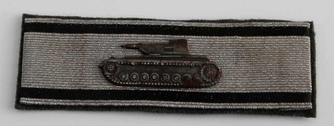 WWII GERMAN 3RD REICH ARMY TANK DESTRUCTION BADGE