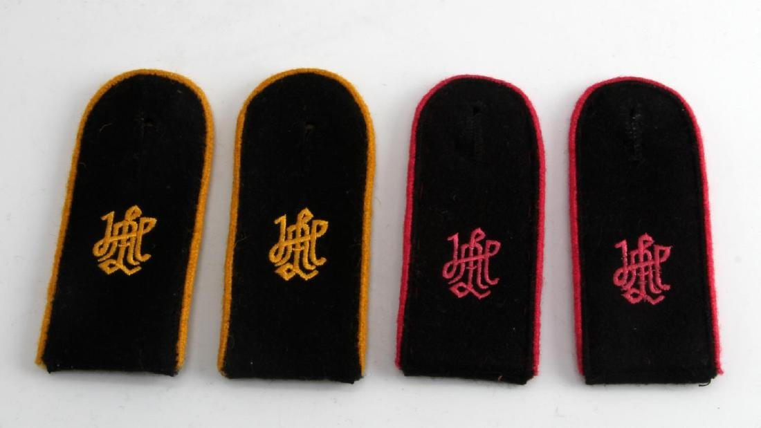 WWII GERMAN THIRD REICH SS LAH SHOULDER BOARD LOT