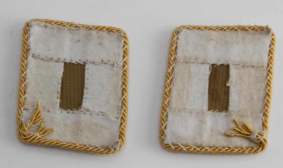 PAIR OF GERMAN WWII LUFTWAFFE GENERAL COLLAR TABS - 2