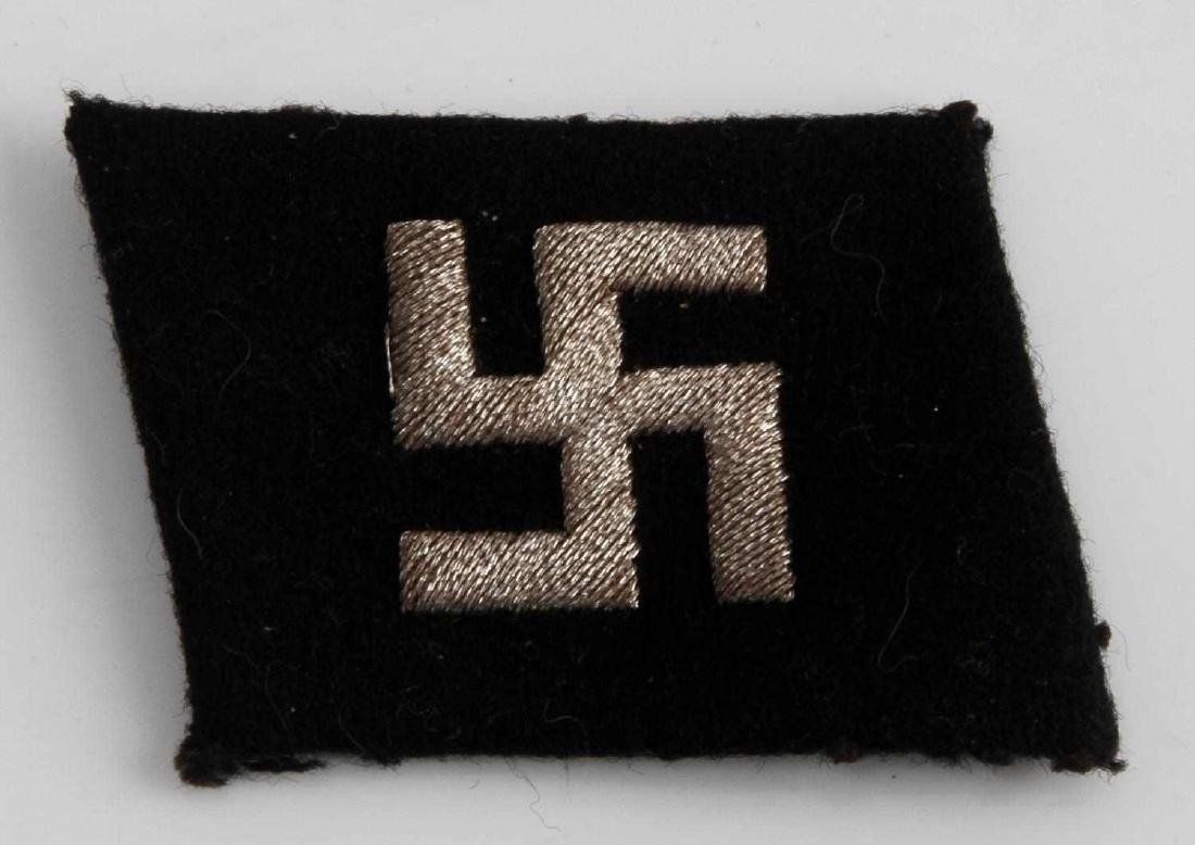 GERMAN WWII WAFFEN SS NCO VOLUNTEER COLLAR TAB