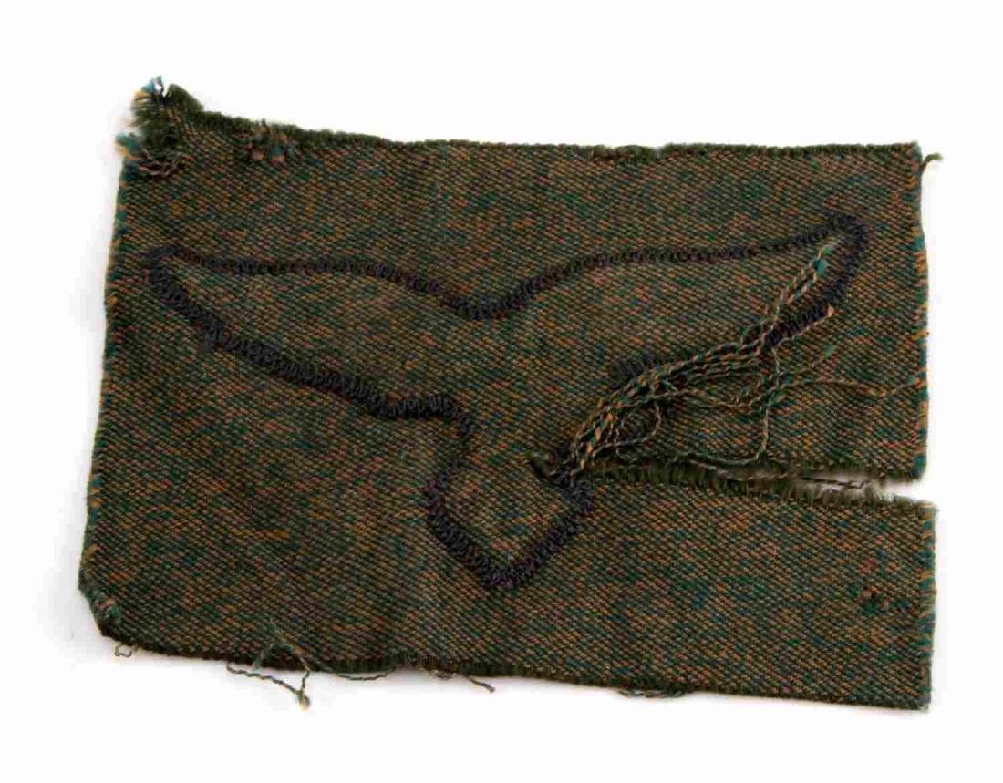 GERMAN WWII LUFTWAFFE PARATROOPER SMOCK EAGLE - 2