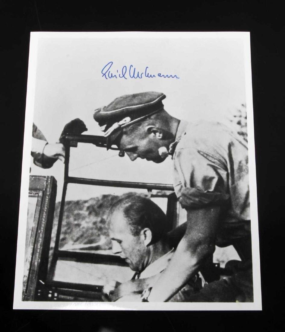 GERMAN POST WWII LUFTWAFFE ACE HARTMANN PHOTO