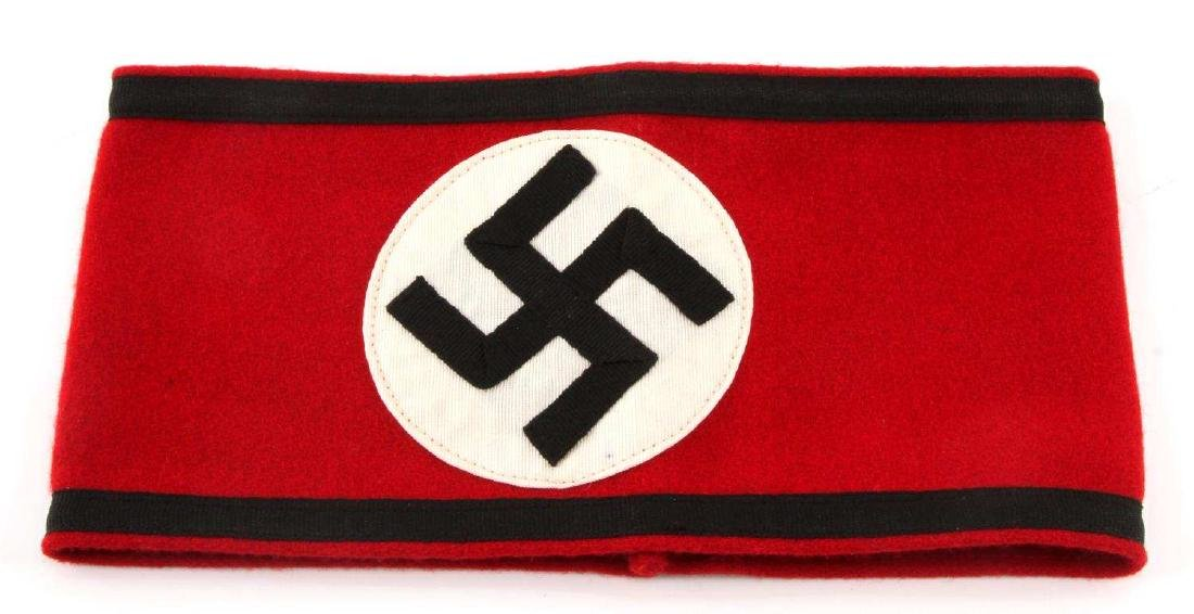 GERMAN WWII WAFFEN SS OFFICERS OVERCOAT ARMBAND