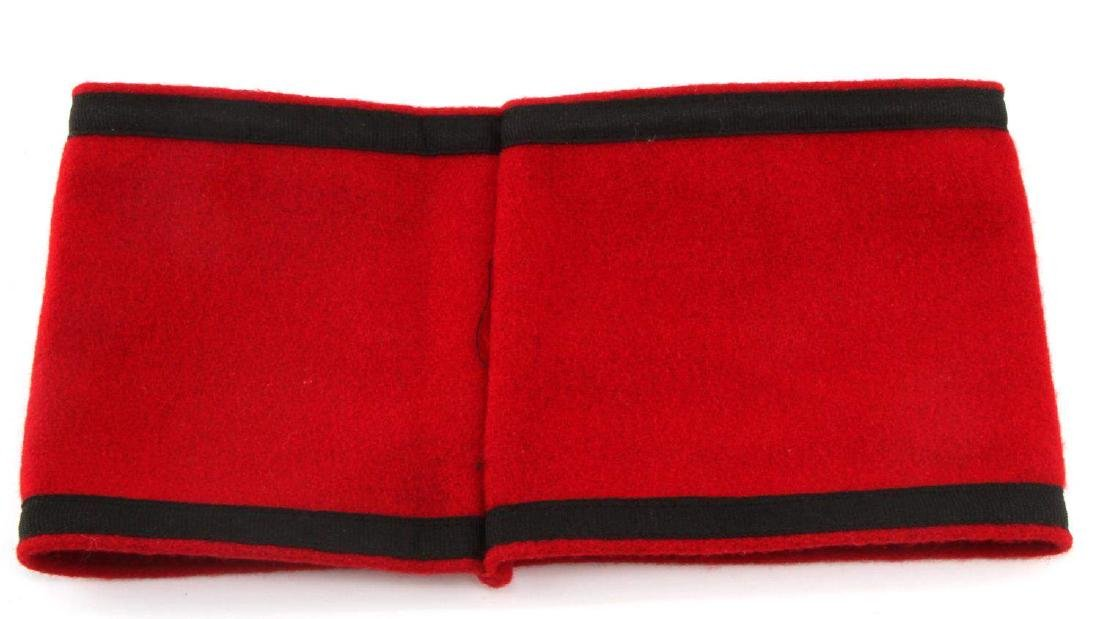 GERMAN WWII WAFFEN SS OFFICERS OVERCOAT ARMBAND - 3