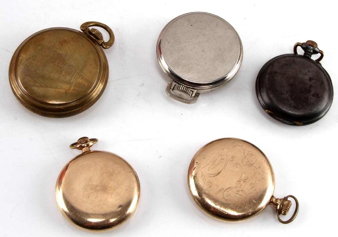 ANTIQUE AND VINTAGE POCKET WATCH LOT - 2