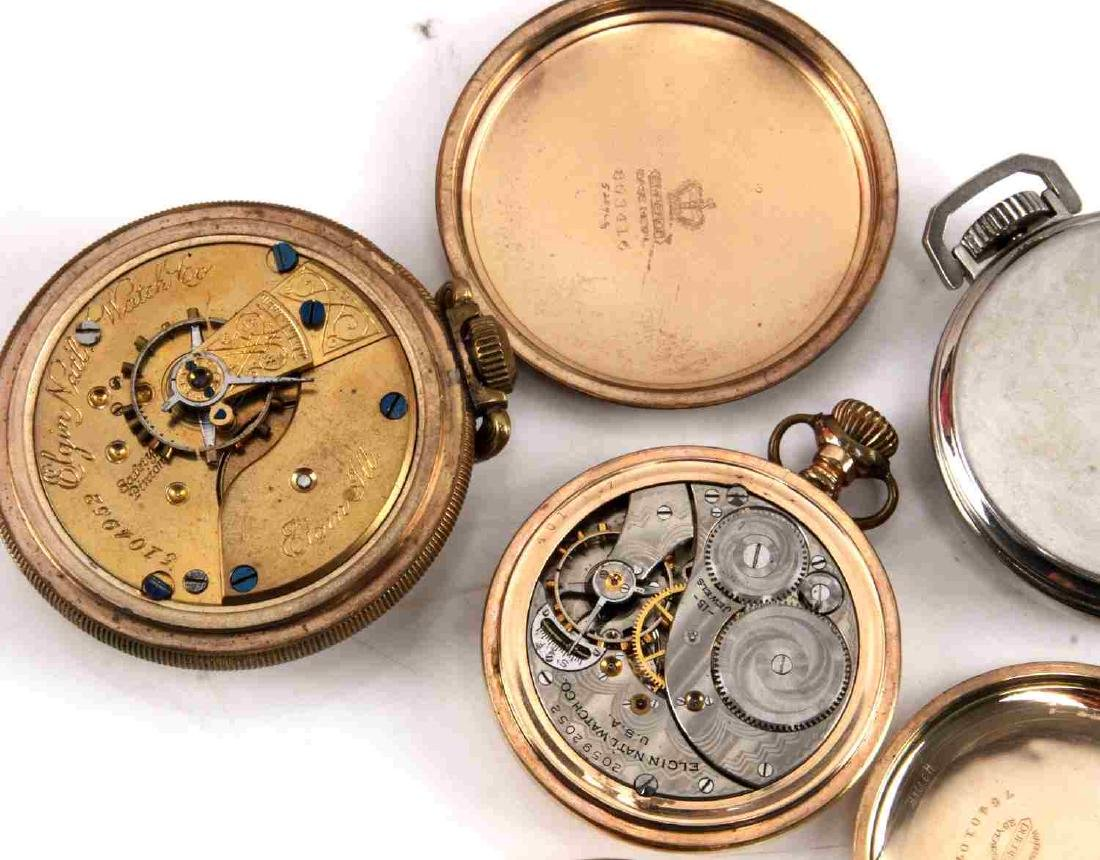 ANTIQUE AND VINTAGE POCKET WATCH LOT - 3