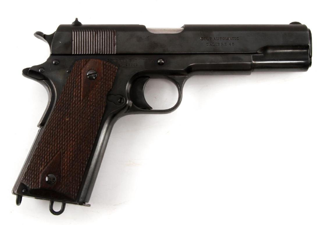 PRE WWI COLT 1911 GOVERNMENT MODEL .45 HANDGUN