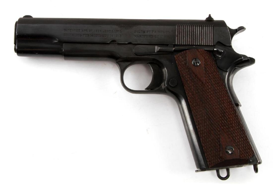 PRE WWI COLT 1911 GOVERNMENT MODEL .45 HANDGUN - 2