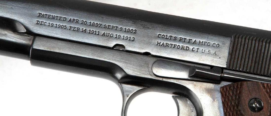 PRE WWI COLT 1911 GOVERNMENT MODEL .45 HANDGUN - 3