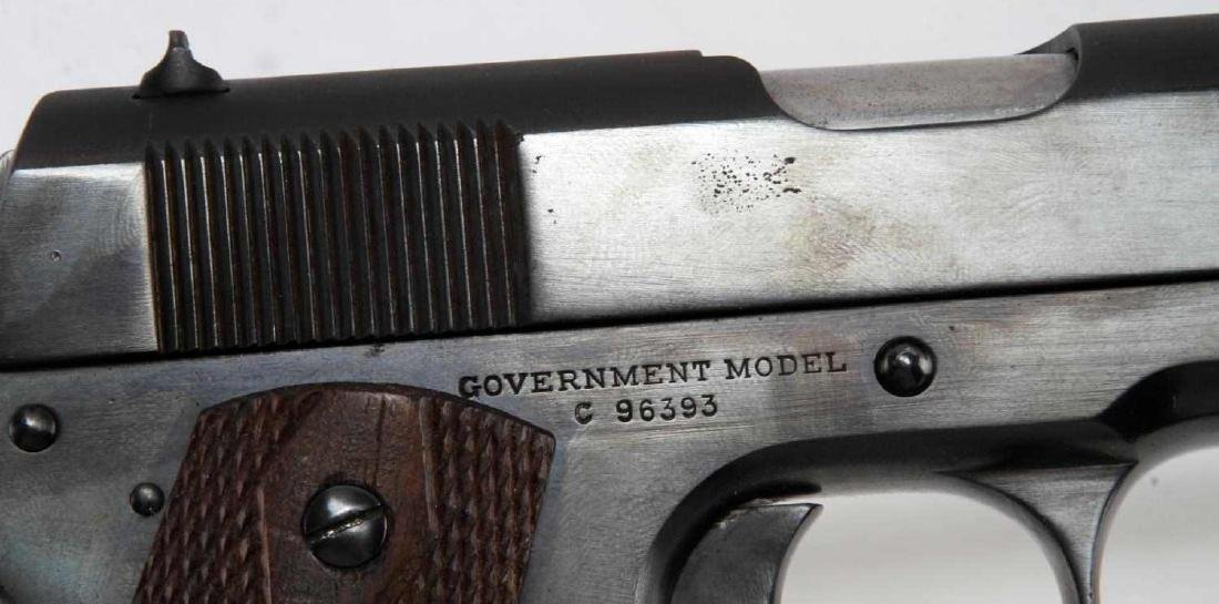 PRE WWI COLT 1911 GOVERNMENT MODEL .45 HANDGUN - 4