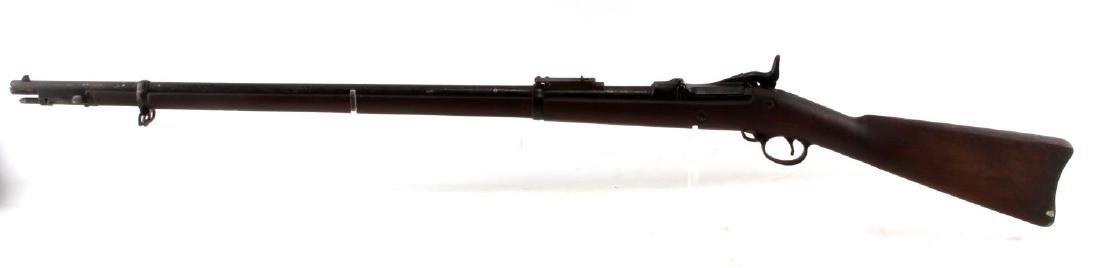 US SPRINGFIELD MODEL 1884 TRAPDOOR .45 70 RIFLE - 5