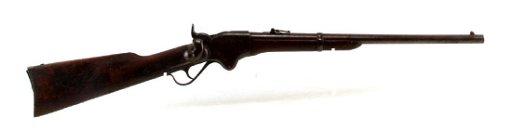 CIVIL WAR MOD 1860 SPENCER REPEATING RIFLE  56 50