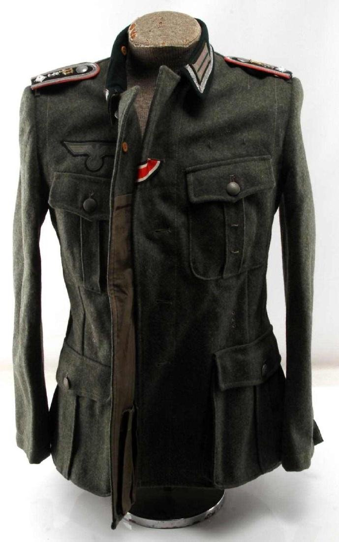 WWII GERMAN THIRD REICH ARMY PANZER NCO TUNIC