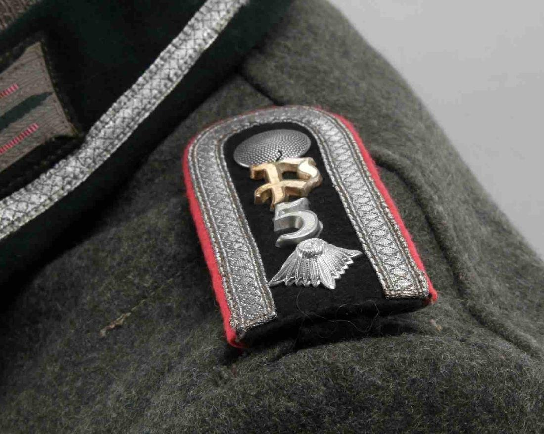 WWII GERMAN THIRD REICH ARMY PANZER NCO TUNIC - 5