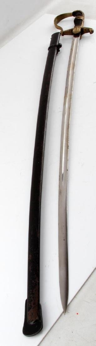 WWII GERMAN THIRD REICH ARMY OFFICER DRESS SWORD - 3