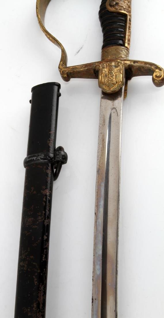 WWII GERMAN THIRD REICH ARMY OFFICER DRESS SWORD - 4