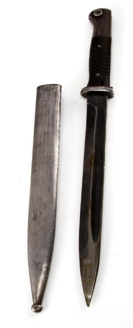 WWII GERMAN K98 MAUSER BAYONET WITH SCABBARD - 3