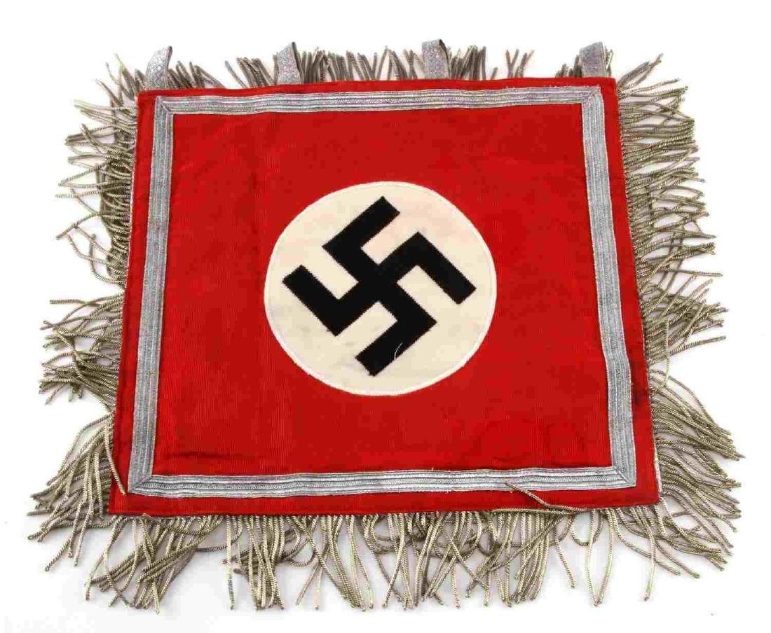 WWII GERMAN THIRD REICH NSDAP TRUMPET STANDARD