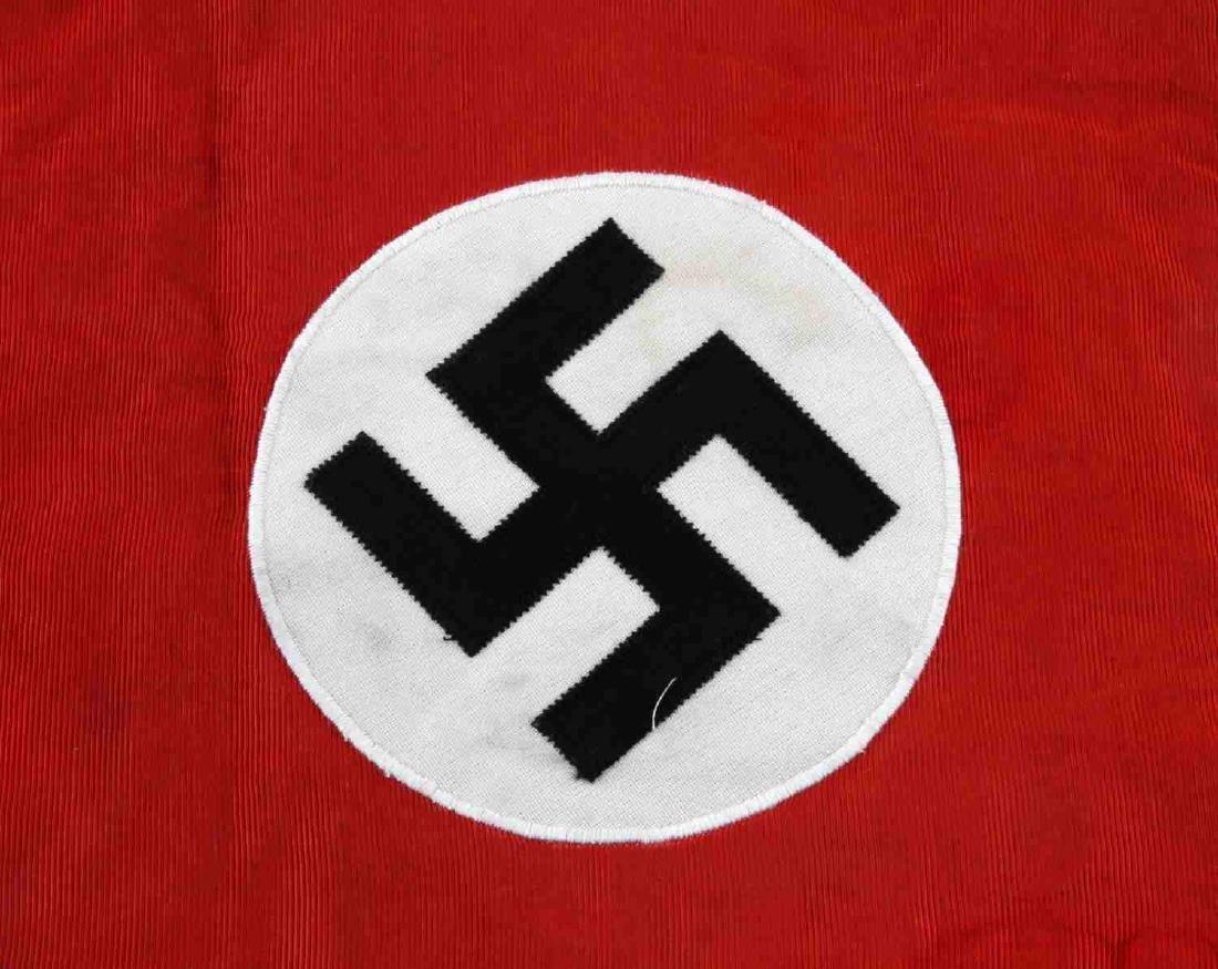 WWII GERMAN THIRD REICH NSDAP TRUMPET STANDARD - 2