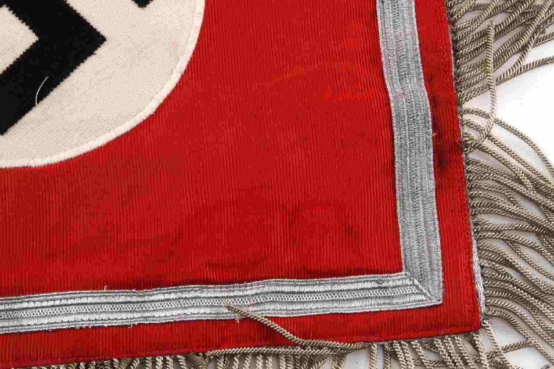 WWII GERMAN THIRD REICH NSDAP TRUMPET STANDARD - 3