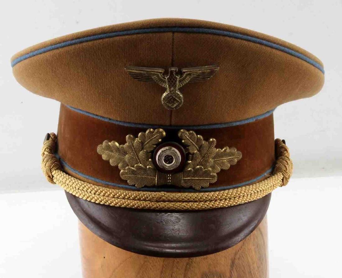 WWII GERMAN 3RD REICH NSDAP POLITICAL OFFICER CAP
