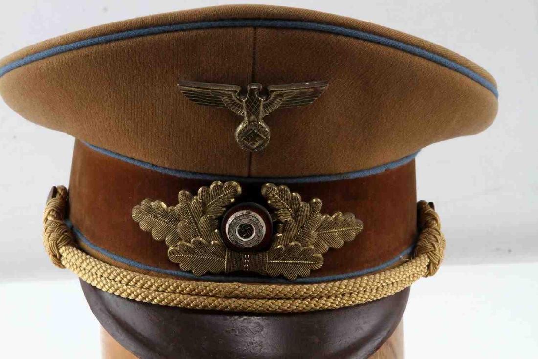 WWII GERMAN 3RD REICH NSDAP POLITICAL OFFICER CAP - 2