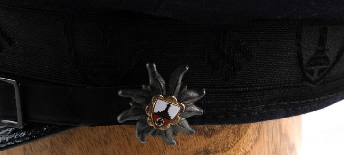 WWII GERMAN THIRD REICH VETERAN ASSOCIATION CAP - 4