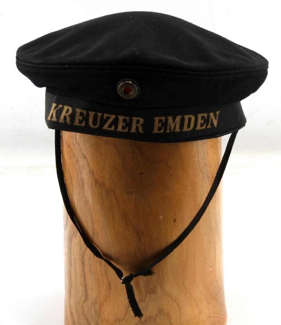 WWII GERMAN THIRD REICH KRIEGSMARIINE SAILOR CAP