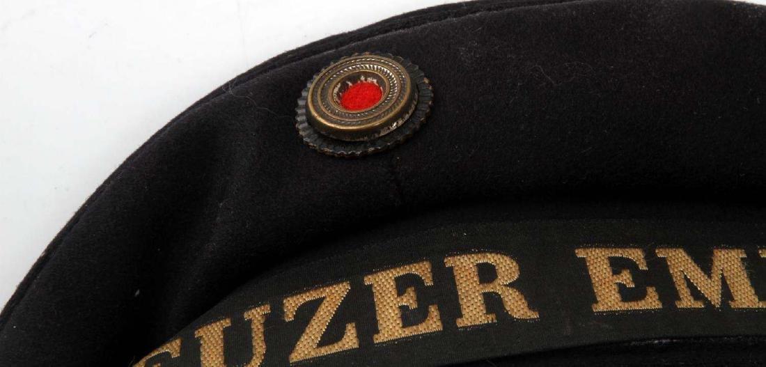 WWII GERMAN THIRD REICH KRIEGSMARIINE SAILOR CAP - 2
