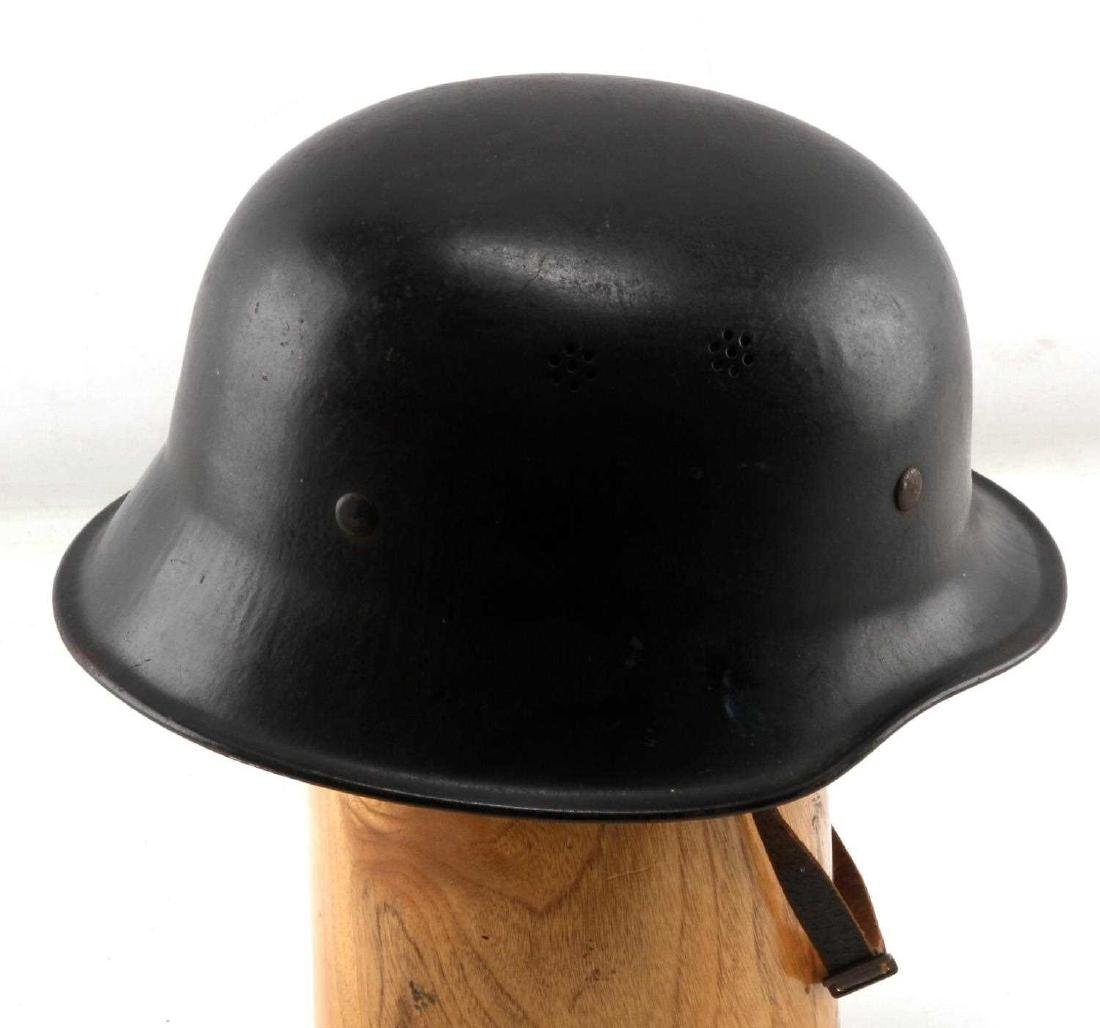 WWII GERMAN THIRD REICH RED CROSS HELMET - 4