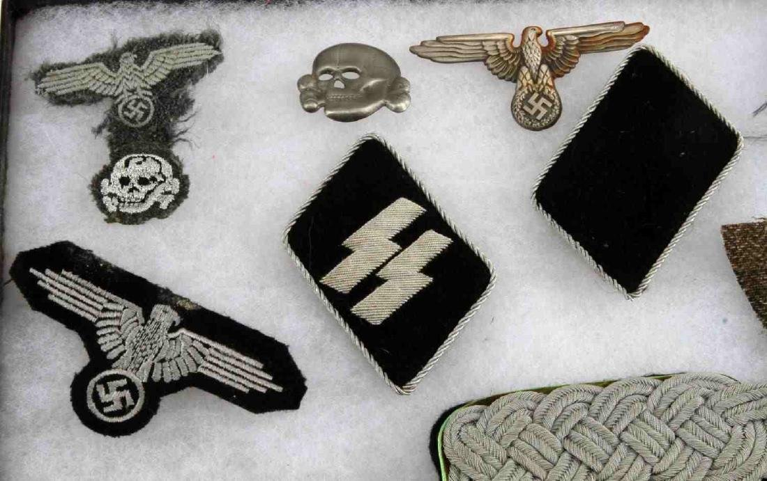 WWII GERMAN THIRD REICH WEHRMACHT AND SS PATCH LOT - 4
